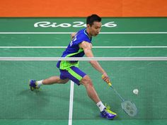 Chong Wei Lee of Malaysia competes against Tien Chen Lee Chong Wei, Dan Lin, Racquet Sports, Rio 2016, Summer Olympics, Badminton, Chen, Legends, Poses