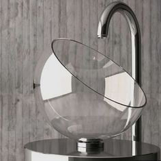 glass bowl sink