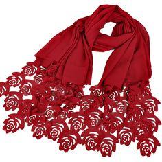 27 color 180*85cm Popular rose flower laser cut bubble chiffon headbands hollow shawls hijab wrap muslim scarves/scarf #Muslim fashion http://www.ku-ki-shop.com/shop/muslim-fashion/27-color-180-85cm-popular-rose-flower-laser-cut-bubble-chiffon-headbands-hollow-shawls-hijab-wrap-muslim-scarves-scarf/