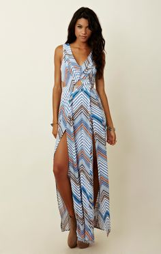 Finders keepers hold on maxi dress