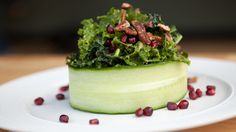 Crunchy Kale Salad by Chad Sarno. Great for your post-holiday detox!