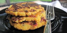 #paleo bacon acorn squash patties (side dish)