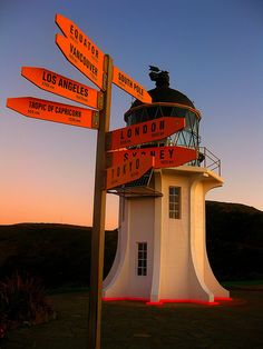 Bill✔️   Cape Reinga, Tip of North Island, New Zealand. Nice image - photographer unknown!     Bill Gibson-Patmore.  (curation & caption: @BillGP). Bill✔️