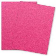 Stardream Metallic - 8.5 x 11 - Text Weight Paper - AZALEA - 25 PK - PAPER-PAPERS.COM