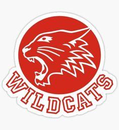 Pegatina Wildcats (High School Musical)
