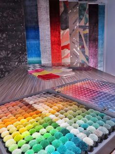 COLORS EXHIBITION in Serge LESAGE Showroom in Paris!  90, boulevard Raspail, 75006 Paris