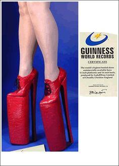 Dünyanın en uzun topuklu ayakkabısı