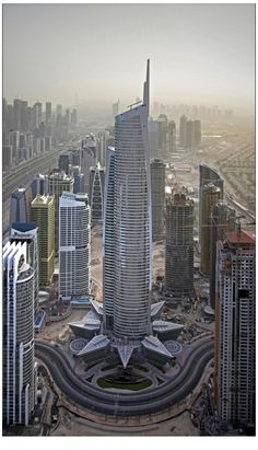 30th tallest building in the world - Almas Tower, Dubai - 1,191 ft, 68 floors, and build in 2009 http://dubaiw.net/wp-content/uploads/2011/11/almas-tower-new.jpg