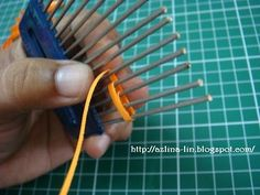 Quilling Comb.  Or.... a  you could use a comb or hair pick for the same results