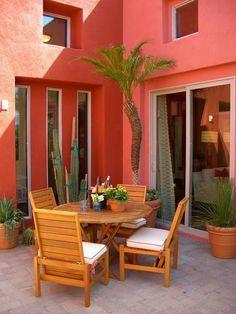 contemporary patio by Suzanne Anderson Designs