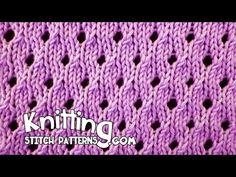 Knitting Stitch Patterns: Flight Of The Bumblebee
