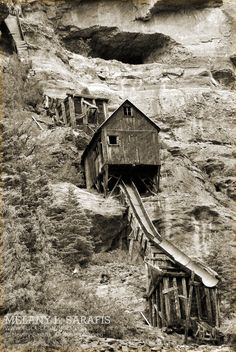 Abandoned Mine, Ouray, CO.