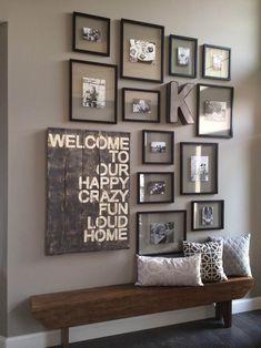 30+ ý tưởng trang trí tường tuyệt vời bằng hình ảnh những người thân yêu trong gia đình