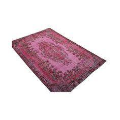 Rozenkelim Vintage Vloerkleed 179 x 263 cm - Roze