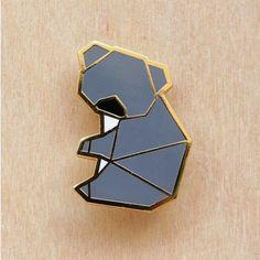 broche koala origami by Hug a porcupine
