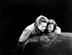 """2,552 Likes, 4 Comments - Historical Pix  (@historicalpix) on Instagram: """"1955. James Dean and Natalie Wood in a publicity photo for Rebel Without a Cause. #JamesDean…"""""""