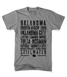 Oklahoma State Shirt - Grey