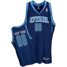 f767f6af3 Jazz Personalized Authentic Blue NBA Jersey (S-3XL) Utah Jazz