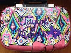 Custom Painted Cooler #sorority #cooler