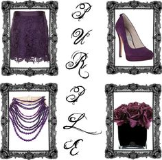 """Purple Love"" by ramissa on Polyvore"
