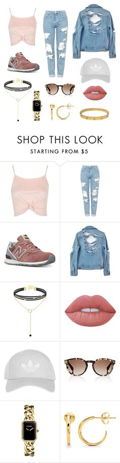 """""""🌪"""" by carlotaabreuu ❤ liked on Polyvore featuring beauty, Topshop, New Balance, High Heels Suicide, Lime Crime, Fendi, Chanel, Missoma and Cartier"""