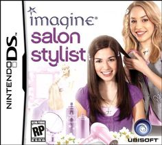 Imagine: Salon Stylist - Nintendo DS: Express your creativity as a famous hair and makeup stylist as you manage your very own Beauty Salon. Sims 2 Games, Ds Games, Nintendo Ds, Nintendo Switch, Handheld Video Games, Game Item, Facial Treatment, Birthday Wishlist, Imagines