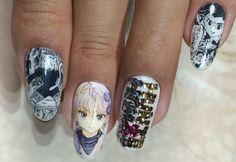 ハンターハンター(HUINTER x HUNTER) : Character nail art