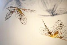 Flowerflies in My Studio