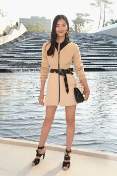 Look of the Day - Liu Wen, Model - SI Style