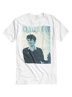 Gerard Way Milk T-Shirt, WHITE