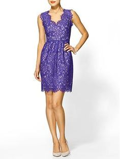 Shoshanna Lace Sierra Dress   This will be in my closet before the end of the week, perfect for going to a summer wedding