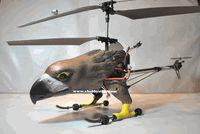 """25.5"""" 9021 Hottest Big Eagle 3Channel Remote Control Helicopter w/ Gyro System (Black)"""
