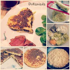 breakfast with dukan style ; Food Network, Feta, Dukan Diet, Kraut, Cooking, Breakfast, Ethnic Recipes, Potato Latkes, Hash Recipe