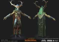 ArtStation - Total War: Warhammer - Realm of the Wood Elves - Wildrider, Liz Edwards