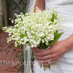 love lilies of the valley, incorporate into centerpieces and bm bouquets...my Omi's favorite flower.