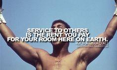 ~Muhammad Ali
