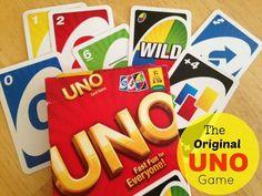 The Original Uno Card Game