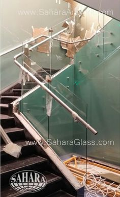 Work Glass Handrail, Mirrors, Glass Partitions, Glass Cladding, Glass Ceiling etc.