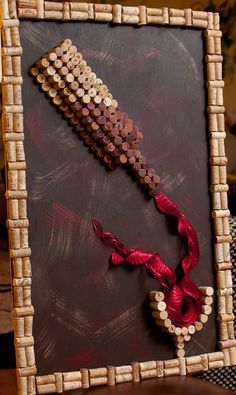 Pour Red Wine 3D Cork Wall Art by Wine Cork Unique on Etsy, $500.00