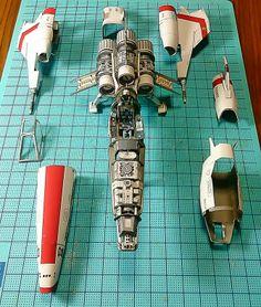 Battlestar Galactica - Viper Mark II - Papercraft - 2