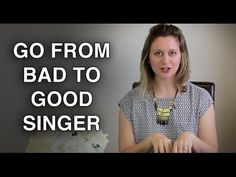 This videos shows you to go from a bad singer to a good singer. But manly when you want to become an actor and singer you have to become an actor and then you can sing and do a few other of your dream jobs to but you need to mostly concentrate on acting. But you can still do more of your life dreams but only a little bit