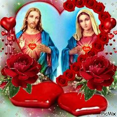 1 million+ Stunning Free Images to Use Anywhere Mary Jesus Mother, Blessed Mother Mary, Mary And Jesus, Blessed Virgin Mary, Jesus And Mary Pictures, Catholic Pictures, Pictures Of Jesus Christ, Beautiful Gif, Beautiful Roses