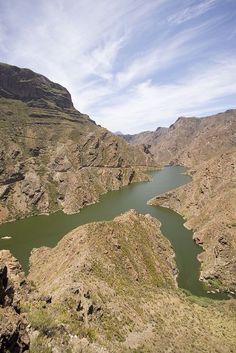 La Aldea - Gran Canaria | Presa del Parralillo