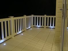 Deck lights under railings! & Rope Lights under Railing | Patio | Deck | Backyard | Pinterest ...