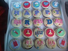 Hospital Lab Technologist Themed Cupcakes by Baked by Umi