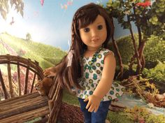 A personal favorite from my Etsy shop https://www.etsy.com/listing/273854610/american-girl-doll-clothes-sold-spring