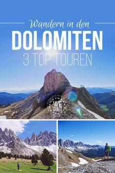 Reisetipps Südtirol: 3 Top Dolomiten Wanderungen und Highlights in Südtirol rund um die Geislerspitzen mit Einkehrmöglichkeit, Schwierigkeitsgrad und Route. #wandern #dolomiten #südtirol #reisetipps