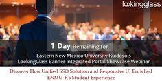 Eastern New Mexico University Ruidoso's LookingGlass Banner Integrated Portal Showcase Webinar