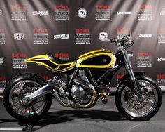 Custom Ducati Scrambler by Radikal Chopper