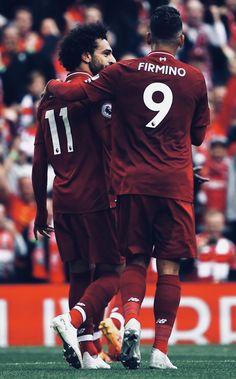 Salah y Firmino Salah Liverpool, Liverpool Players, Liverpool Football Club, Liverpool Fc Wallpaper, Liverpool Wallpapers, Best Football Team, Football Players, Premier League, Cr7 Messi